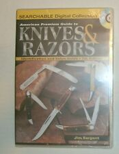 American Premium Guide to Knives & Razors ID & Price Guide by Sargent  *CD ONLY*