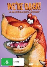 "We're Back! - A Dinosaur's Story (DVD) Region 4 ""NEW AND SEALED"""