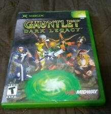 Microsoft XBOX Gauntlet Dark Legacy Video Game w/ Manual & Case 2002 Tested