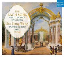 wong,see siang/ko basel/kasai,yuki-the bach sons: piano concertos & solo piecesC