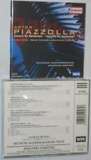 1 CENT CD - PIAZZOLLA: Bandoneon Concerto; HEIDEN, WAXMAN, ROTA: String Cons OP