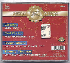 """12"""" Inch Dance Classics CANDIDO/PEOPLE'S/FIRST CHOICE/TIMMY THOMAS NUOVO cd 1997"""