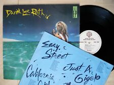 """David Lee Roth Crazy From The Heat 12"""" EP California Girls WB 925 222-1 1985 NM"""