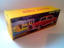 Boîte copie repro Dinky Toys 533 Coupé MERCEDES BENZ 533 300 SE ( box vide )