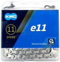 KMC e11 11-Speed 126L Electric eBike/Bike Chain X11e fits Bosch Shimano SRAM