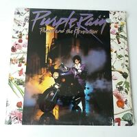 Prince - Purple Rain - Vinyl LP US 1st Press + Rare Poster NM In Shrink