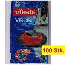 100-Stk. Vileda ViRobi Reinigungstücher | Refill | Ersatz-Staubpads | Sparpack