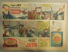 Sugar Jets Cereal Ad: Major Jet Outflies The Freezing Terror from 1950's