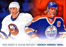 2012-13 Upper Deck Hockey Heroes #52 Mike Bossy, Wayne Gretzky