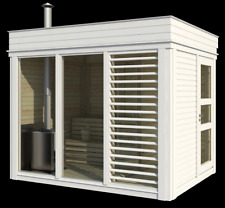 komplett sauna ebay. Black Bedroom Furniture Sets. Home Design Ideas