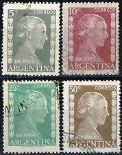 Argentina Eva Peron Evita stamps 1951