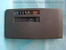 Pontiac Sunbird Auto Trans Gray Floor Consol Shift Face Plate wo ashtray 1989-91