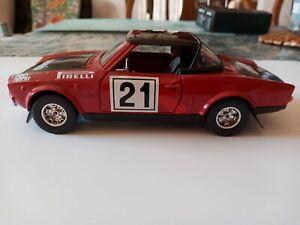 Fiat 124 Rally bburago In 1:24