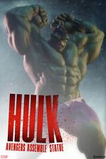 Sideshow Marvel Hulk Avengers Assemble Statue - Thor, Captain America, Thanos
