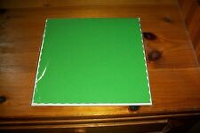 5X XXL CARDS GREEN INCL ENVELOPES 20X20 CM NEW NEW NEW