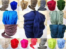 Kammzug Merino 38 Farben Märchenwolle 100g 2,79€ spinnen filzen gefärbt