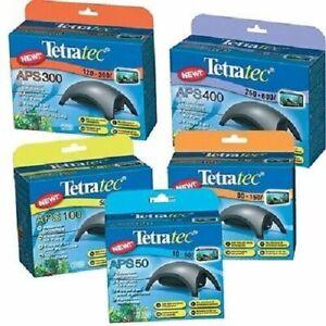Tetra Tetratec Air Pump Silent APS 50 100 150 300 400 Aquarium Fish Tank Oxygen