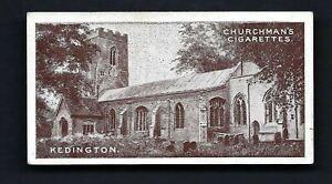 CHURCHMAN - WEST SUFFOLK CHURCHES - #27 KEDINGTON