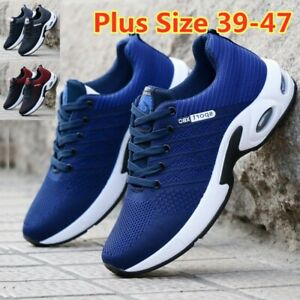 MENS AIR CUSHION SNEAKERS CASUAL SPORTS TENNIS JOGGING RUNNING ATHLETIC SHOES