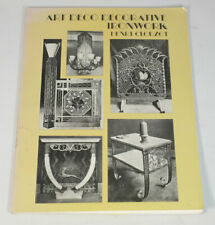 Art Deco Decorative Ironwork Henri Clouzot Dover Book