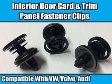 20x CLIPS For VW T5 MULTIVAN CARAVELLE CADDY TRANSPORTER DOOR CARD TRIM RETAINER