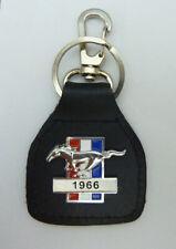 1966  Mustang Real Leather Keyring / Keyfob