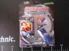 Monsuno  Figure Starter Pack 1 Animal + 1 Core + Card glowblade