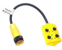 MULTI-PORT BOX #100746 LUMBERG AUTOMATION ASB 8//LED 5-4-331-RS120M