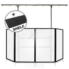 Gorilla Mobile DJ 4ft Disco Stand Lighting Booth Screen Pro Rig inc Shelf