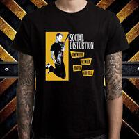 Social Distortion Punk Rock Band Album Men's Black T-Shirt Size S to 3XL