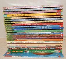 Lot Scholastic Childrens books~Animals~Junie B. Jones~Goosebumps~Boxcar Children
