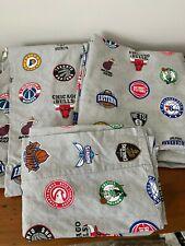 Pottery Barn Teen NBA EAST Division Basketball XL Twin Sheet Set
