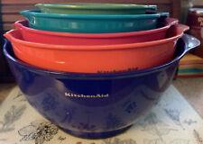 KitchenAid Kitchen Aid Nesting Batter Mixing Bowls 5 Colors 1.5 Qt - 5.5