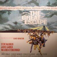 Elmer Bernstein - The Great Escape (Soundtrack) 180 gr Blue Vinyl LP NEW + OVP