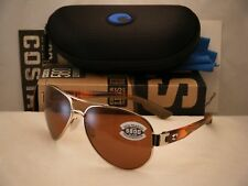 Costa South Point Gold/Light Tortoise w Copper 580G Lens (SO84 OCGLP)