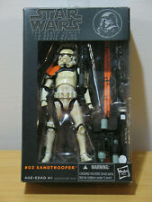 "Hasbro Star Wars Black Series 6"" #03 Sandtrooper 2013"