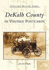 DEKALB COUNTY, INDIANA IN VINTAGE POSTCARDS - NEW PAPERBACK BOOK
