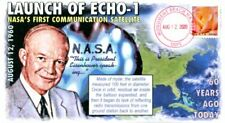 "COVERSCAPE computer designed 60th Launch of ""Echo-1"" Satellite event cover"