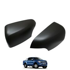 MATTE BLACK Mirror Covers Ford Ranger for T6 2012-2015 (Limited/Wildtrak model)