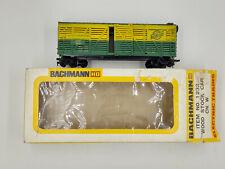 HO Scale Bachmann 1232 Chicago & Northwestern Cattle Stock Car CNW 14332 ~ LNIB