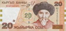 Kirgistan / Kirgisistan / Kyrgyzstan 20 Som (2002) Pick 19 (1)