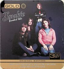 SMOKIE -Greatest Hits, Gold 3-CD Collectors Tin (NEW) Best Of/70s Classic Rock