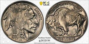 1934 Buffalo Nickel 5c PCGS MS 63