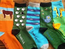 Animal Pack (Free Shipping) Fredrick Harold,   Funky, Colorful Socks