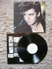 Paul Young The Secret Of Association Vinyl UK CBS 1985 A7/B4 Matrix LP EXC