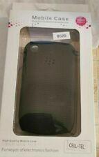 BlackBerry Curve 8520 Funda de silicona Negro NUEVO