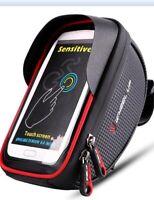 Waterproof Bike Bicycle Handlebar Cycling Phone Case Pouch Bag Touchscreen