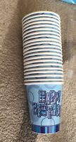 18th Birthday Party Disposable Tableware Cups Napkins Tablecovers banners