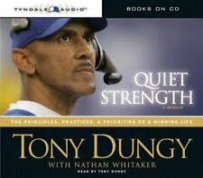 Quiet Strength by Tony Dungy (Audiobook CD)