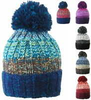 Mens Womens Oversized Beanies Winter Wooly Slouch Beanie Hat Rib Knit Design